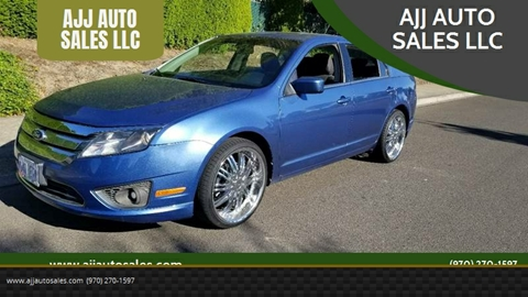 2010 Ford Fusion for sale at McMinnville Auto Sales LLC in Mcminnville OR
