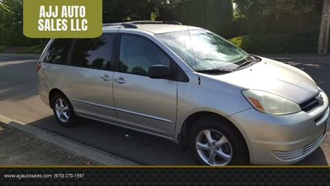 2004 Toyota Sienna for sale at McMinnville Auto Sales LLC in Mcminnville OR