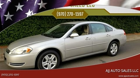 2007 Chevrolet Impala for sale at McMinnville Auto Sales LLC in Mcminnville OR