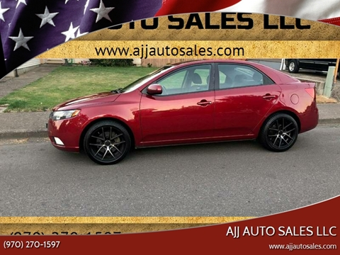 2011 Kia Forte for sale at McMinnville Auto Sales LLC in Mcminnville OR