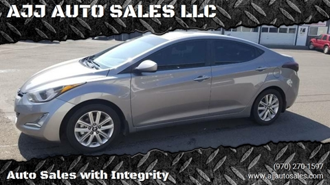 2015 Hyundai Elantra for sale at McMinnville Auto Sales LLC in Mcminnville OR