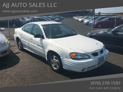 2000 Pontiac Grand Am for sale at McMinnville Auto Sales LLC in Mcminnville OR