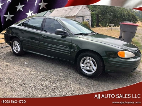 2000 Pontiac Grand Am for sale in Mcminnville, OR