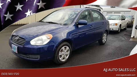 2010 Hyundai Accent for sale at McMinnville Auto Sales LLC in Mcminnville OR