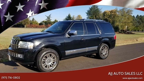 2007 Lincoln Navigator for sale at McMinnville Auto Sales LLC in Mcminnville OR