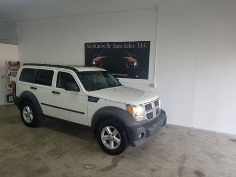 2007 Dodge Nitro for sale at McMinnville Auto Sales LLC in Mcminnville OR
