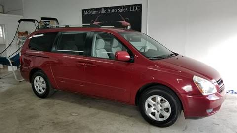 2006 Kia Sedona for sale at McMinnville Auto Sales LLC in Mcminnville OR
