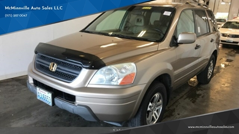 2004 Honda Pilot for sale at McMinnville Auto Sales LLC in Mcminnville OR