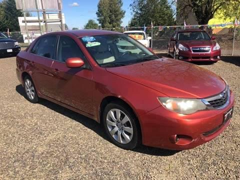 2009 Subaru Impreza for sale at McMinnville Auto Sales LLC in Mcminnville OR