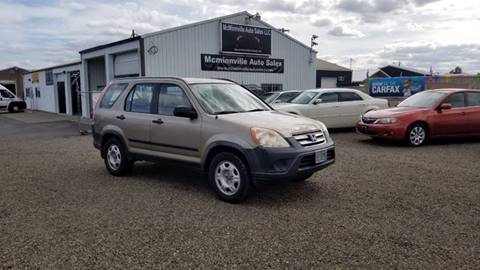 2006 Honda CR-V for sale at McMinnville Auto Sales LLC in Mcminnville OR