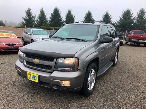 2008 Chevrolet TrailBlazer for sale at McMinnville Auto Sales LLC in Mcminnville OR