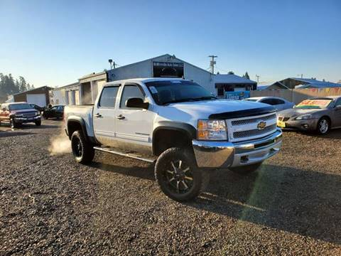 2012 Chevrolet Silverado 1500 for sale at McMinnville Auto Sales LLC in Mcminnville OR
