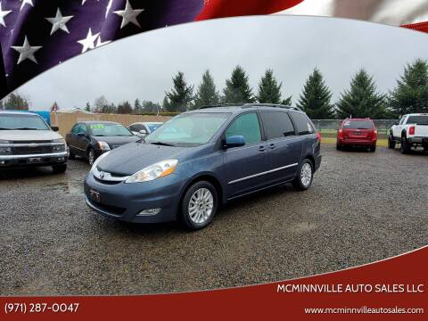 2009 Toyota Sienna for sale at McMinnville Auto Sales LLC in Mcminnville OR