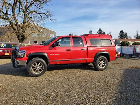 2004 Dodge Ram Pickup 1500 for sale at McMinnville Auto Sales LLC in Mcminnville OR