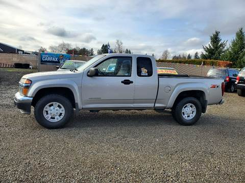 2005 Chevrolet Colorado for sale at McMinnville Auto Sales LLC in Mcminnville OR
