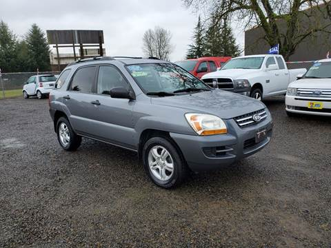 2007 Kia Sportage for sale at McMinnville Auto Sales LLC in Mcminnville OR