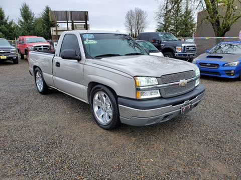 2005 Chevrolet Silverado 1500 for sale at McMinnville Auto Sales LLC in Mcminnville OR