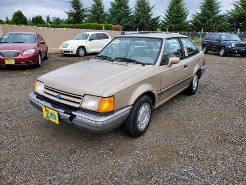 1990 Ford Escort for sale at McMinnville Auto Sales LLC in Mcminnville OR