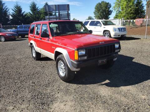 1996 Jeep Cherokee for sale at McMinnville Auto Sales LLC in Mcminnville OR