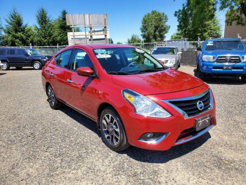 2015 Nissan Versa for sale at McMinnville Auto Sales LLC in Mcminnville OR