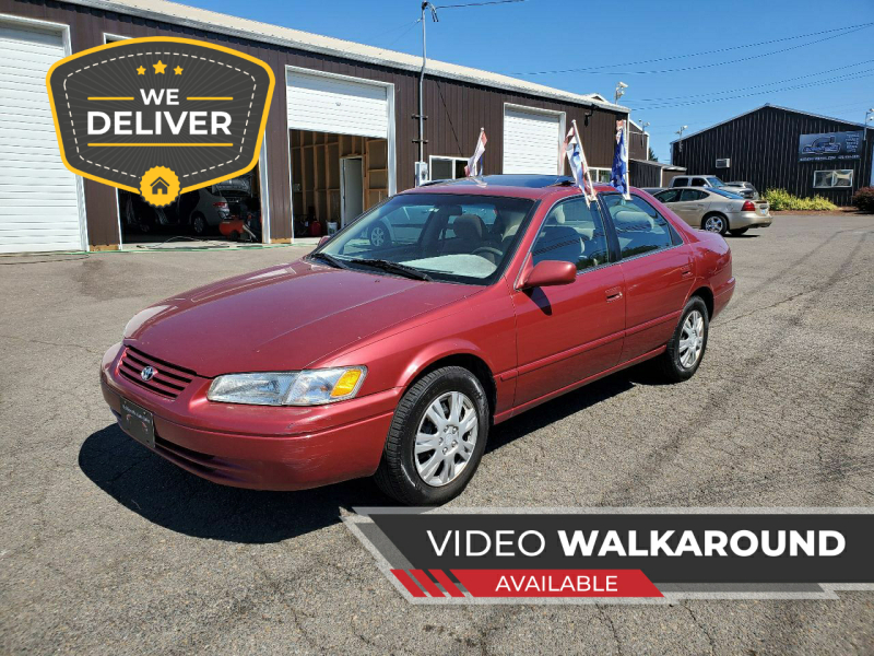 1997 Toyota Camry for sale at McMinnville Auto Sales LLC in Mcminnville OR