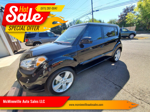 2011 Kia Soul for sale at McMinnville Auto Sales LLC in Mcminnville OR
