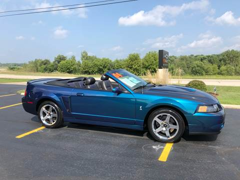 2004 Ford Mustang SVT Cobra for sale at Fox Valley Motorworks in Lake In The Hills IL