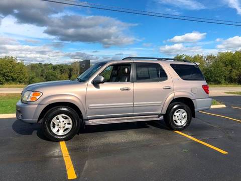 2002 Toyota Sequoia for sale at Fox Valley Motorworks in Lake In The Hills IL