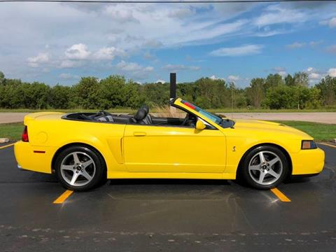 2003 Ford Mustang SVT Cobra for sale in Lake In The Hills, IL