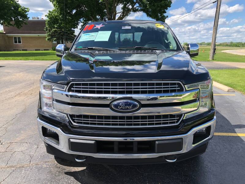 2018 Ford F-150 4x4 Lariat 4dr SuperCrew 5.5 ft. SB - Lake In The Hills IL