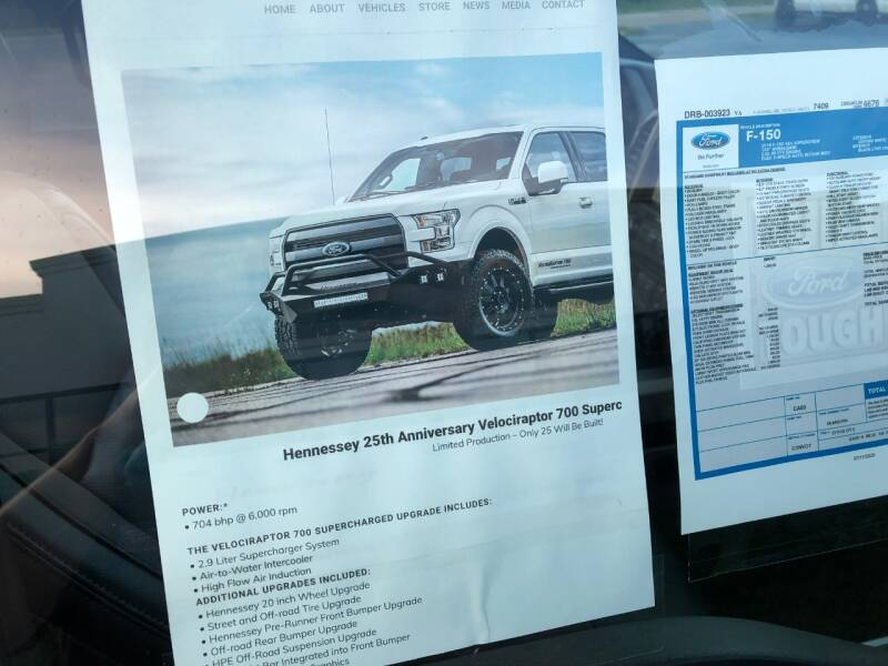 2016 Ford F-150 4x4 Lariat 4dr SuperCrew 5.5 ft. SB - Lake In The Hills IL