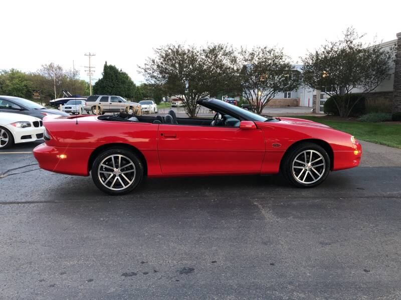 2002 Chevrolet Camaro Z28 2dr Convertible - Lake In The Hills IL