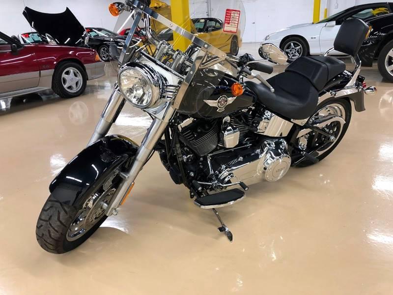 2013 Harley-Davidson FLSTF Softail Fat Boy - Lake In The Hills IL