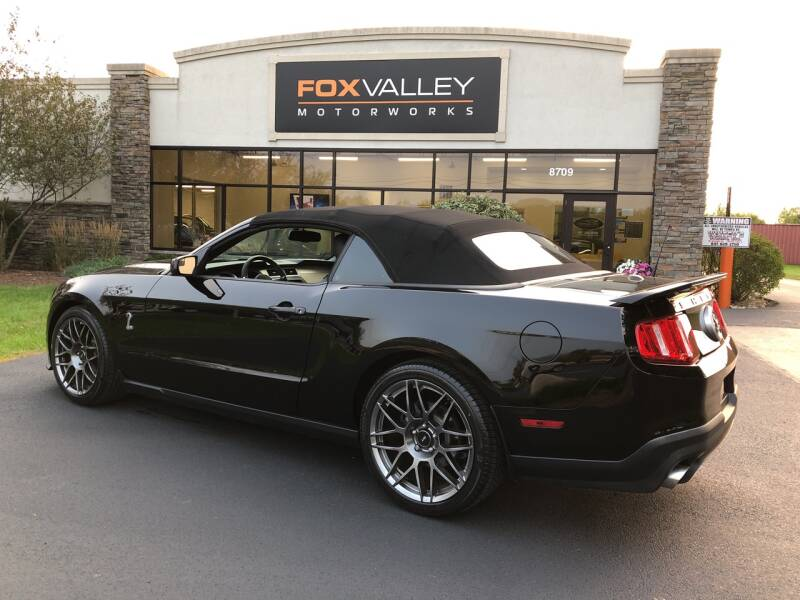 2011 Ford Shelby GT500 2dr Convertible - Lake In The Hills IL