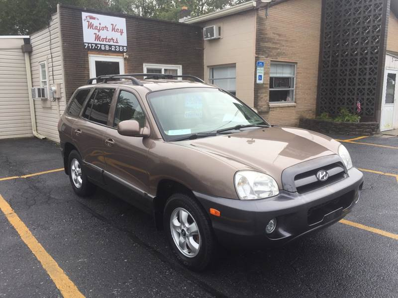 2005 Hyundai Santa Fe For Sale At Major Key Motors In Lebanon PA
