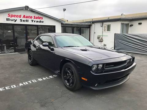 2012 Dodge Challenger for sale at Speed Auto Sales in El Cajon CA