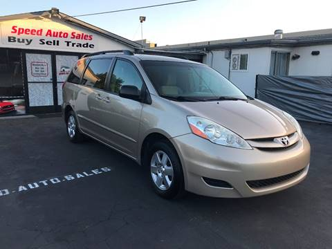 2010 Toyota Sienna for sale at Speed Auto Sales in El Cajon CA