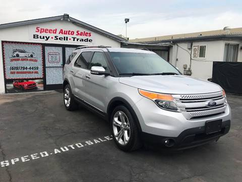 2015 Ford Explorer for sale at Speed Auto Sales in El Cajon CA