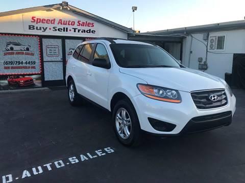 2012 Hyundai Santa Fe for sale at Speed Auto Sales in El Cajon CA