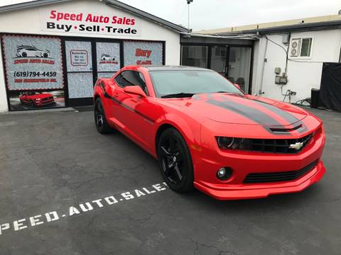 2011 Chevrolet Camaro for sale at Speed Auto Sales in El Cajon CA