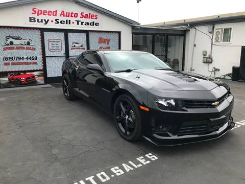 2015 Chevrolet Camaro for sale at Speed Auto Sales in El Cajon CA