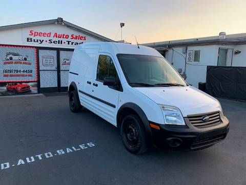 2013 Ford Transit Connect for sale at Speed Auto Sales in El Cajon CA