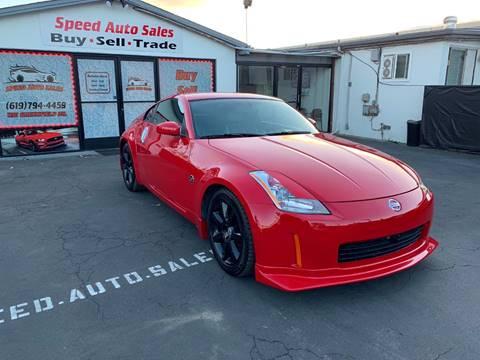 Nissan 350Z For Sale in El Cajon, CA - Speed Auto Sales