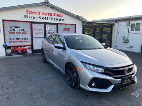 2018 Honda Civic for sale at Speed Auto Sales in El Cajon CA