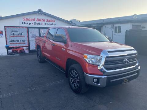 2015 Toyota Tundra for sale at Speed Auto Sales in El Cajon CA