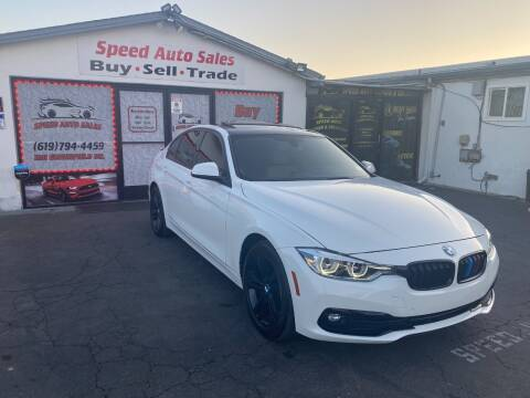 2016 BMW 3 Series for sale at Speed Auto Sales in El Cajon CA