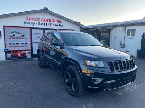 2015 Jeep Grand Cherokee for sale at Speed Auto Sales in El Cajon CA