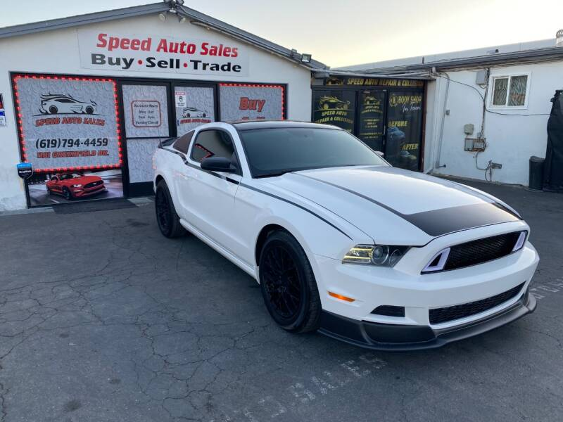2013 Ford Mustang for sale at Speed Auto Sales in El Cajon CA
