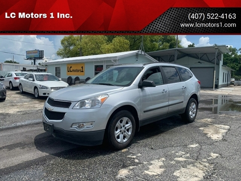 Used Chevy Traverse >> 2012 Chevrolet Traverse For Sale In Orlando Fl