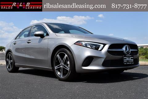 2019 Mercedes-Benz A-Class for sale in Fort Worth, TX